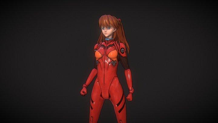 Neon Genesis Evangelion - Asuka 3D Model