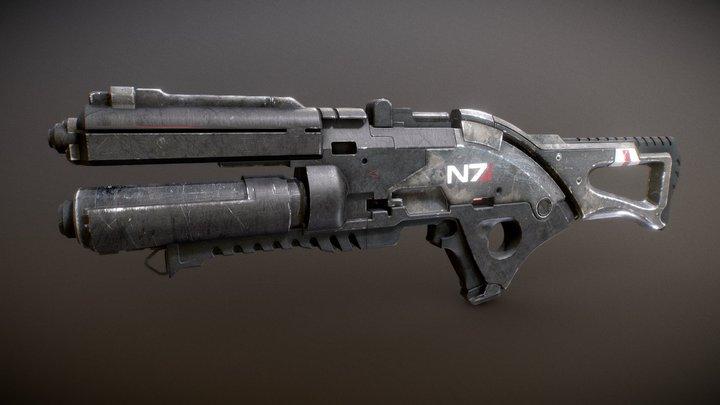 Mass Effect Valkyrie 3D Model