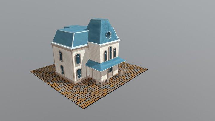 Hopper house 3D Model