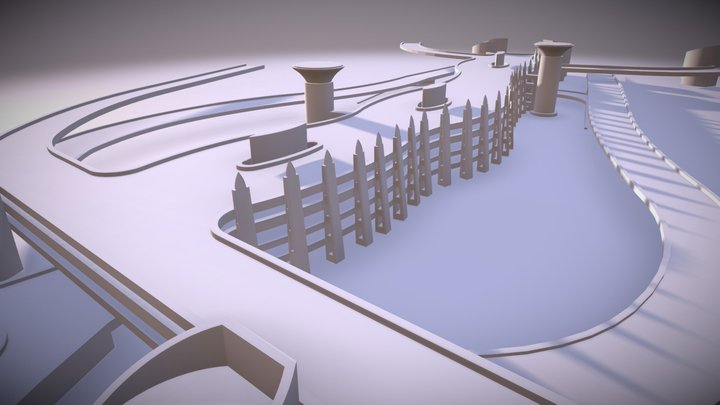 Jamarat 3D Model