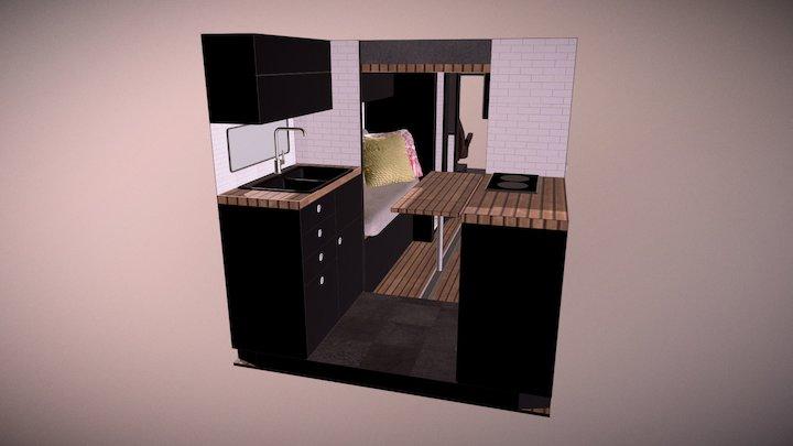 Van Conversion Model 5 3D Model