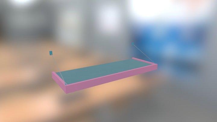 Pastry Panzer Panic! - Awning 1 3D Model