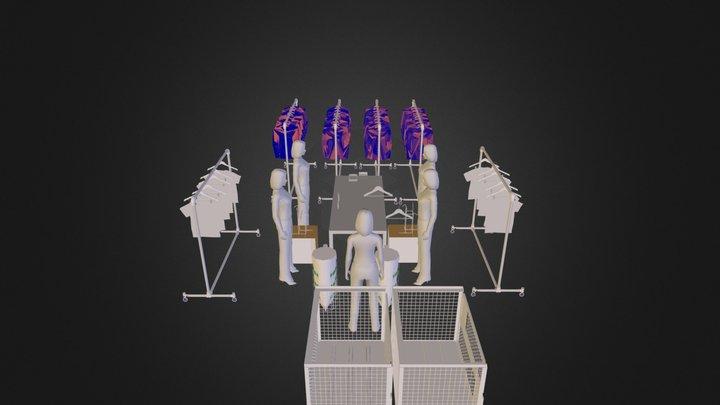 traitement textile1.dae 3D Model