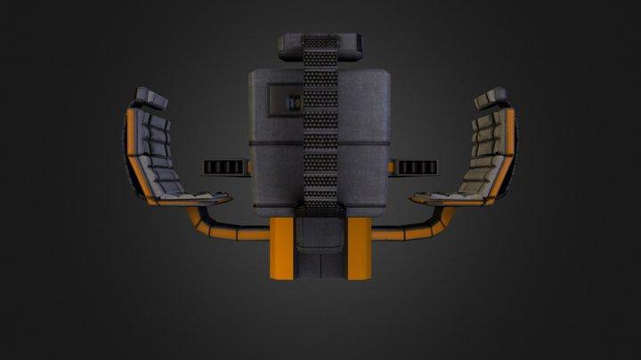 messhall Table 3D Model