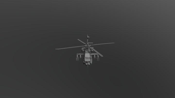 武裝直升機 3D Model