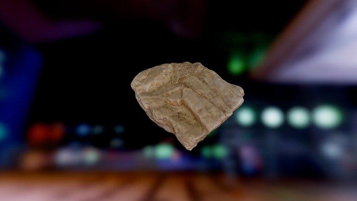 Rock 3 Test - Photoscan - Low Contrast 3D Model