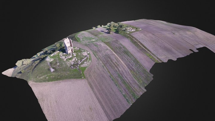 Montecorvino 3D Model 3D Model