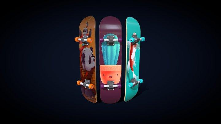 Skate 3D Model