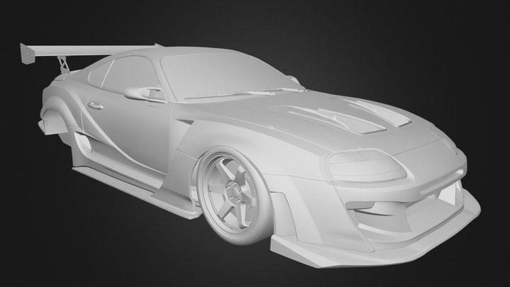 Toyota Supra Varis 3D Model