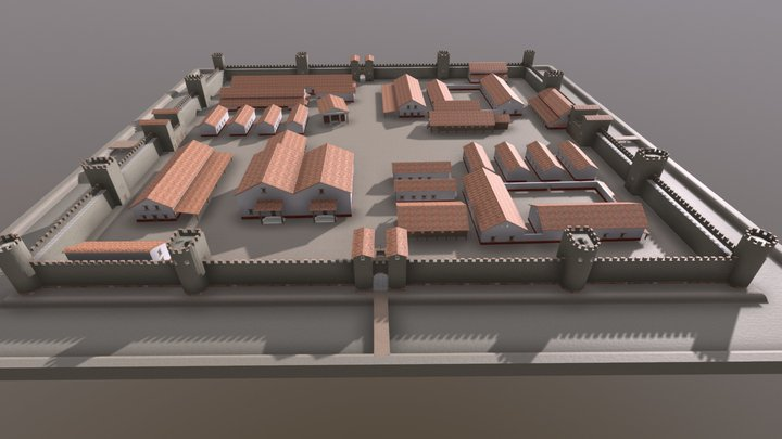 Version réduite pour smartphones - Castellum HW 3D Model