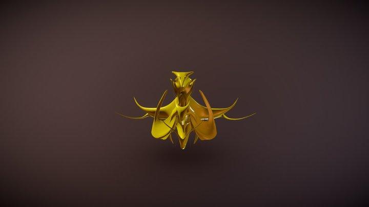 Space Ornament 3D Model