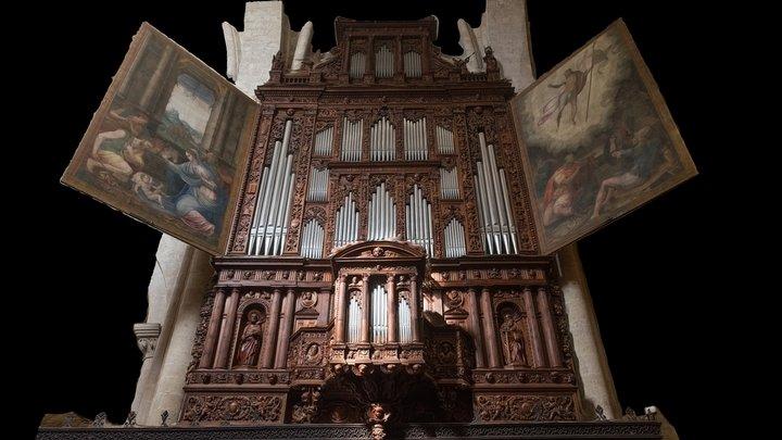 Órgano Catedral Tarragona 3D Model