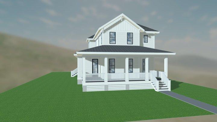 Fort Holmes 3D Model