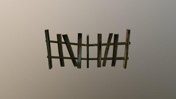 Fence 3D Model