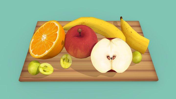 Fruits! 3D Model