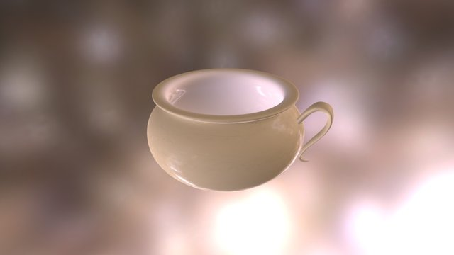 Chamber Pot - Harald, the Scatty Spook asset 3D Model