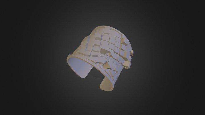 Urban Fabric Bracelet - Melbourne 3D Model