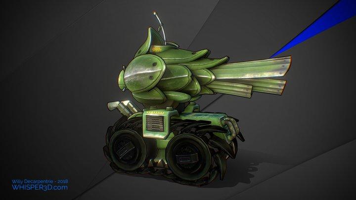 Vege tank 3D Model