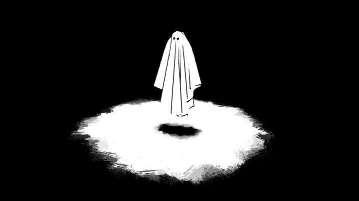 Inktober - Day 22 - Ghost 3D Model