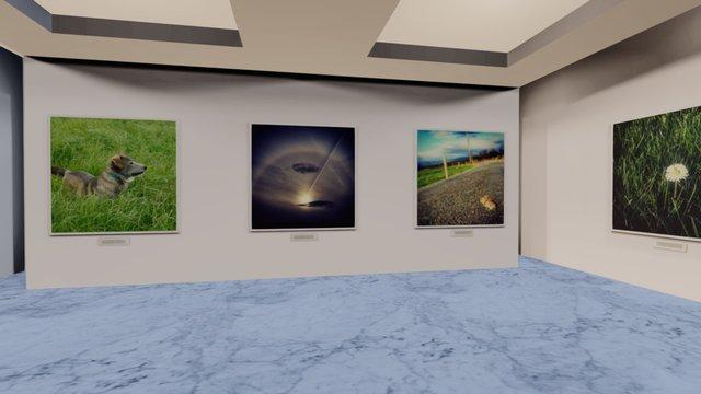 Instamuseum for @eirepreneur 3D Model