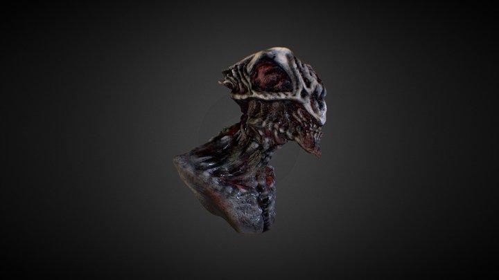 test aliens head 3D Model