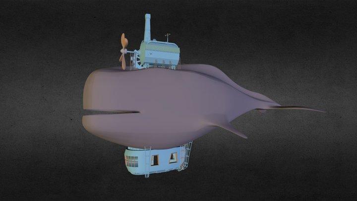 Whaleship 3D Model