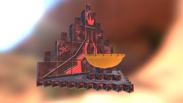 Inner Fire Shrine 3D Model