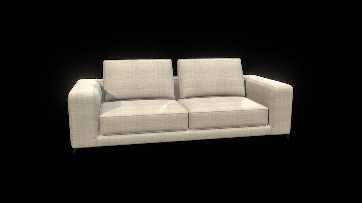 Christian Sofa 3D Model