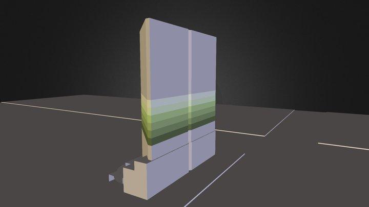 Wells Fargo Building 3D Model