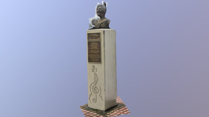 Monumento Flora 3D Model