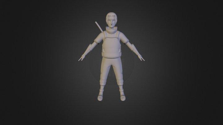Itachi Anbu 3D Model