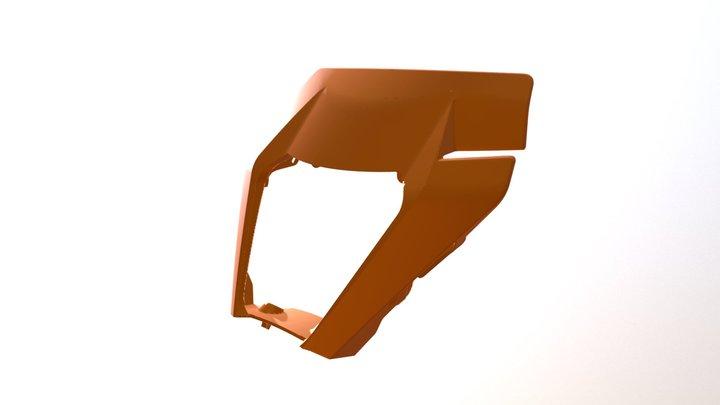 Mascherina KTM 3D Model