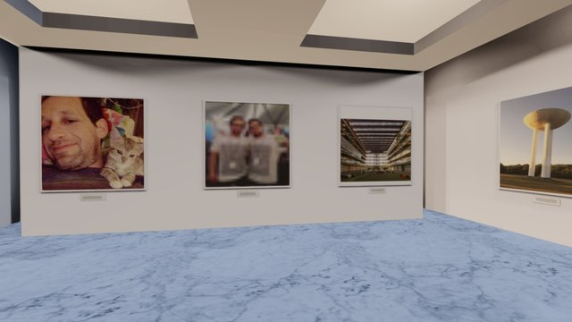 Instamuseum for @jlevitate 3D Model