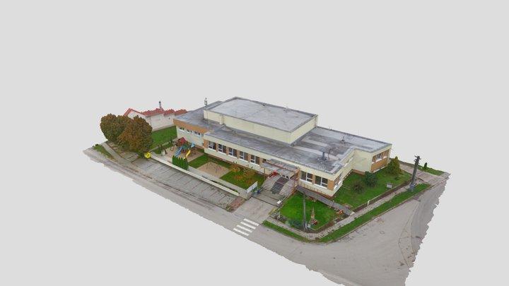 Obec Hoste 3D Model