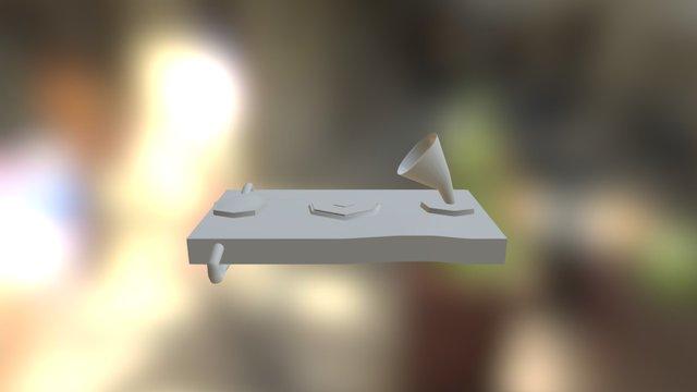 Steampunk Handy 3D Model