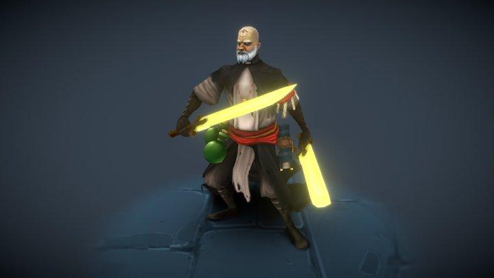 Zealous Priest 3D Model