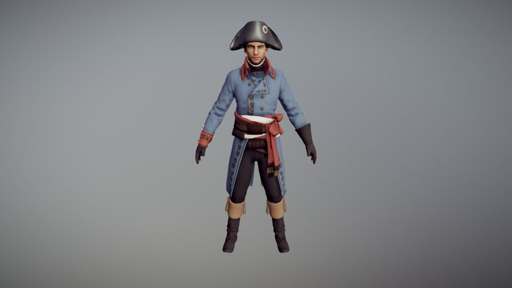 Napoleon 3D Model