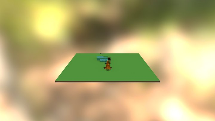 The Bow Challenge 3D Model