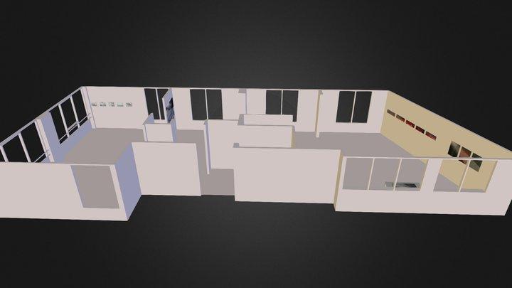 Jardin 3 3D Model