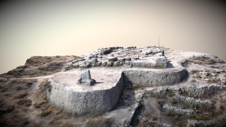 Tell Balata ruins 3D Model