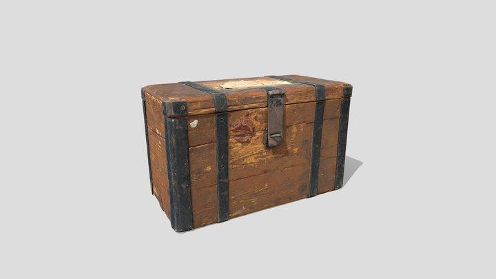 LOW Postimerkkilaatikko - Stamp chest 3D Model