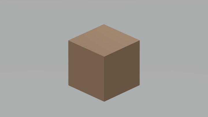 Animated Box 3D Model