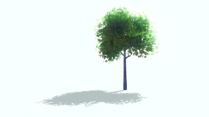 a simple tree 3D Model