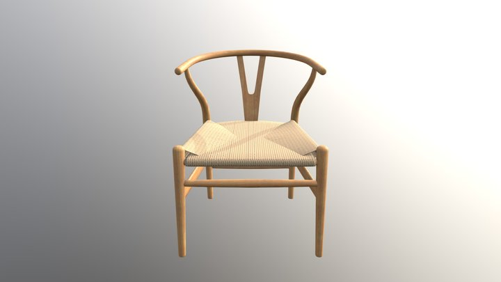 Dining Side Chair 3D Model