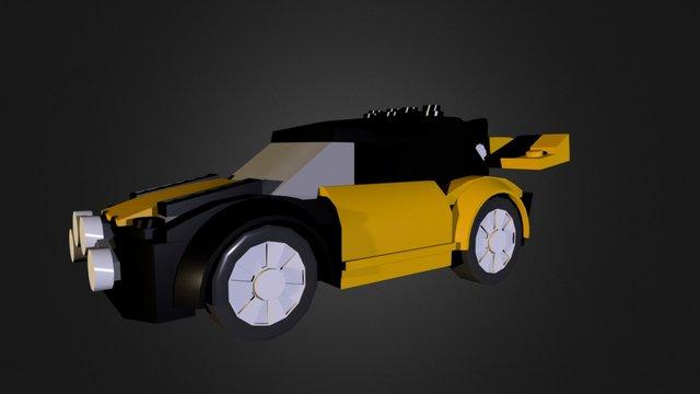 Lego Rally car 3D Model