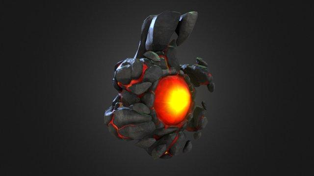 Rock Bomb 3D Model