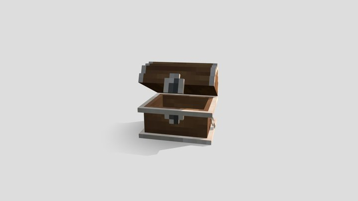 Treasurechest 3D Model