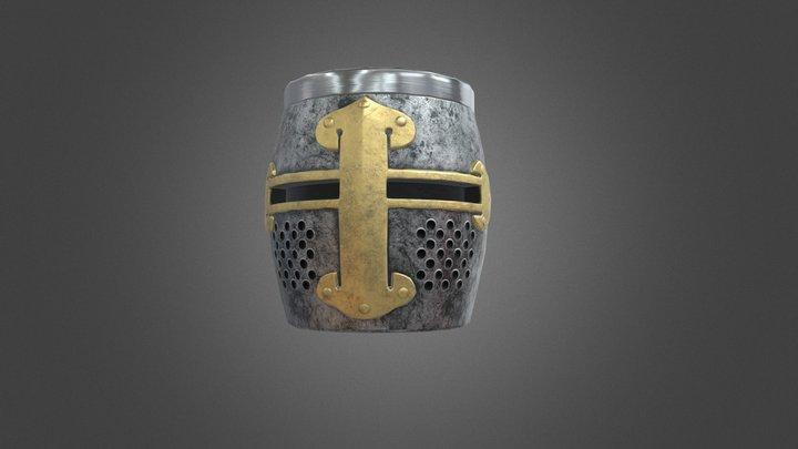 Crusader Mug 3D Model