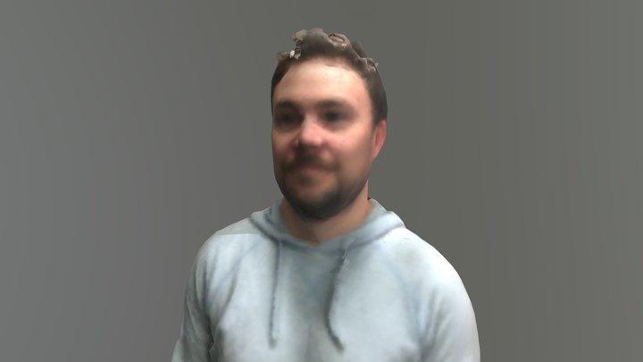 Darren Head Reconstruction 3D Model