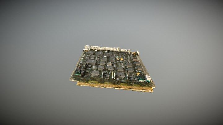 Dacs IV Circuit Pack 3D Model